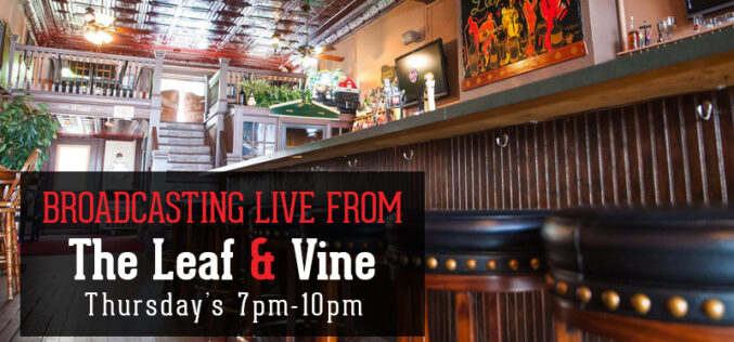 Thirsty Thursdays at The Leaf & Vine