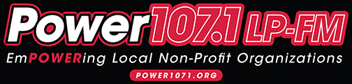Power 107.1 Logo