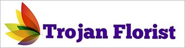 Trojan Florist Logo